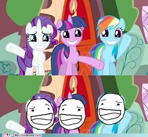 Bad pony face!