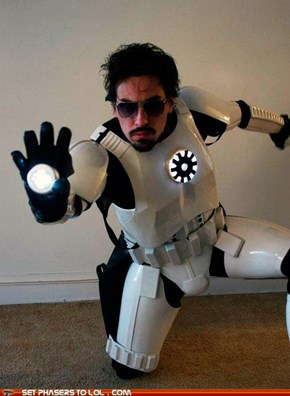 The Empirical Stark Industries Presents: The Iron Man Stormtrooper