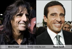 Alice Cooper Totally Looks Like Steve Carell