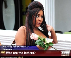 Breaking News: Snooki is pregnant - Who are the fathers?