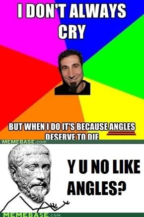 Pythagoras No Like!