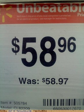 Such Savings!