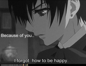 Because of you..