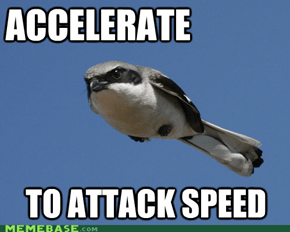 What's the Speed of an African Swallow?