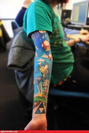 Tattoo WIN: Time to Break Out the Sega
