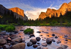 Glow After the Storm, Yosemite
