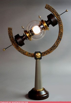 Science Steampunk Lamp