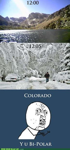 Colorado? You Can't Explain That