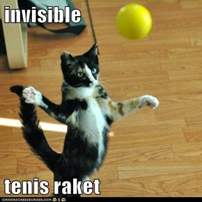 invisible  tenis raket