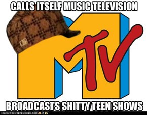 CALLS ITSELF MUSIC TELEVISION