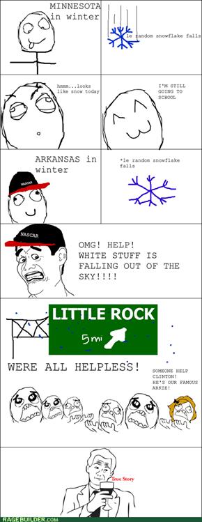 Snow in America
