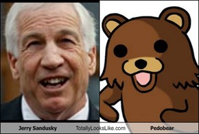Jerry Sandusky Totally Looks Like Pedobear