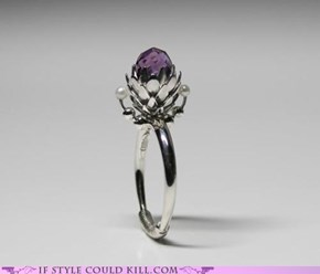 Ring of the Day: Amethyst Cone