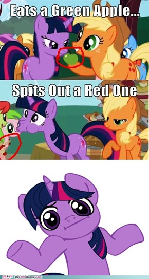 Twilight is Saving the Green One for Later