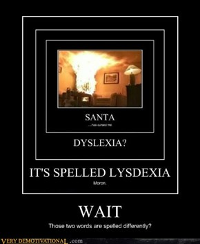 Lysdexia, Dislexia, same thing