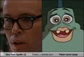 Guy from Apollo 13 Totally Looks Like Peter Lorre Lamp