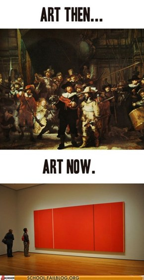School of Fail: Art History 212: EVERYTHING IS HORRIBLE
