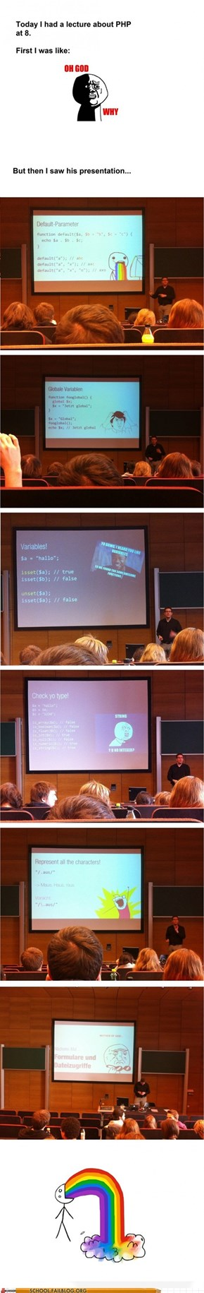 School of Fail: Memes 101: This Presentation Will Use Them All