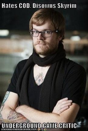Hates COD, Disowns Skyrim  UNDERGROUND GAME CRITIC