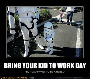 BRING YOUR KID TO WORK DAY