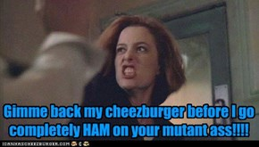 Never Leave Your Cheezburger Alone With Mutant Asses