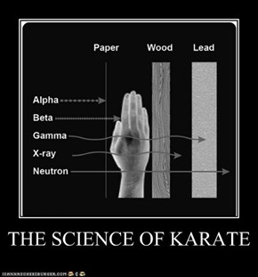 THE SCIENCE OF KARATE