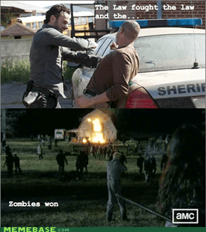Summary of The Walking dead Season 3