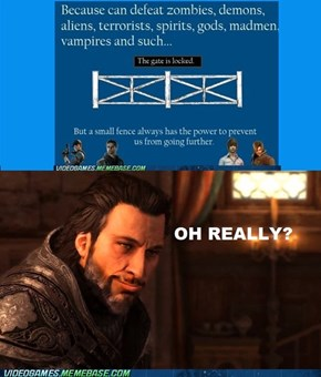 Ezio Rejects your logic