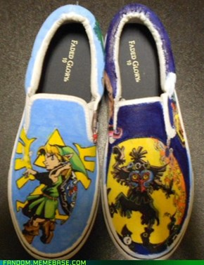 Majora's Mask shoes