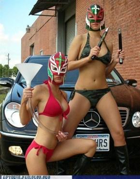 Lucha Libre Imbibing