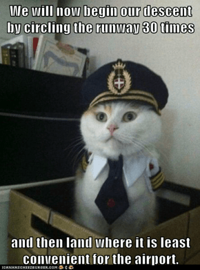 Animal Memes: Captain Kitteh - Preferably on Some Air Traffic Controller's Keyboard