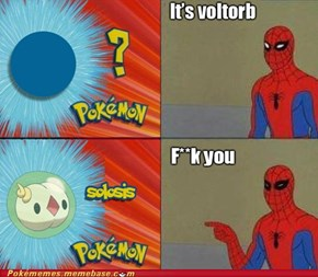Spidey Does Not Approve of New Pokémon