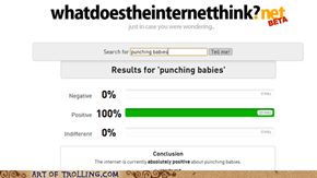 Positively punching babies