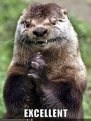 Scheming Otter's Plans Fall Into Place