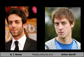 B. J. Novak Totally Looks Like Arthur Darvill