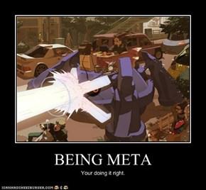 BEING META