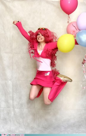 Cosplay: Level Pinkie Pie