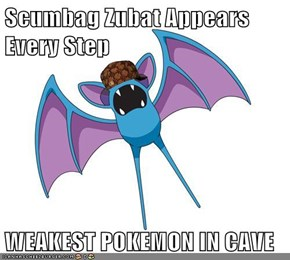Scumbag Zubat Appears Every Step  WEAKEST POKEMON IN CAVE