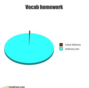Vocab homework