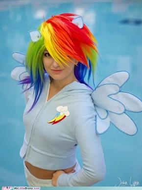 Cosplay: Level Rainbow Dash