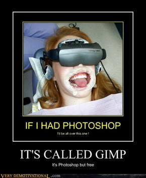 IT'S CALLED GIMP