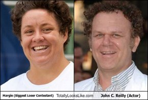 Margie (Biggest Loser Contestant) Totally Looks Like John C. Reilly (Actor)