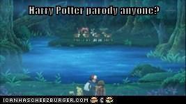 Harry Potter parody anyone?