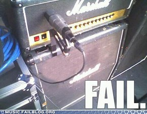 Guitar Amp FAIL