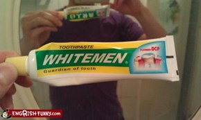 Racially Specific Toothpaste