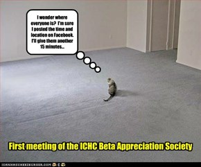 First meeting of the ICHC Beta Appreciation Society