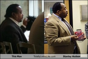 This Man Totally Looks Like Stanley Hudson