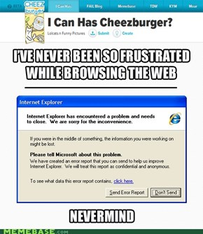 CHEEZY 2012: Only IE is worse. Barely.