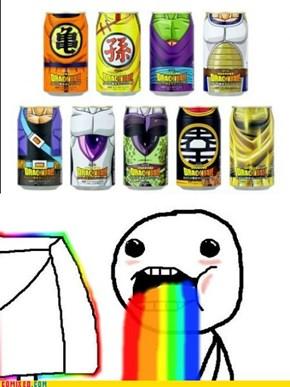 Dragon Ball Drinks