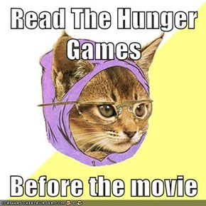 Read The Hunger Games  Before the movie